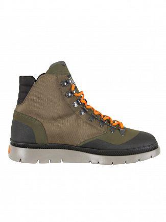 Palladium Moon Mist/Black Pallasider Hiker Mid Boots