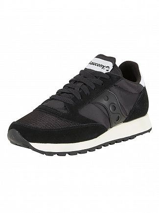 Saucony Black/Black Jazz Original Vintage Trainers