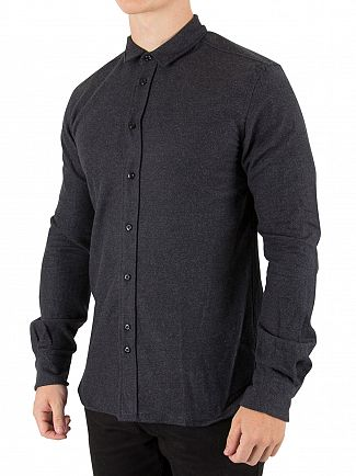 Scotch & Soda Graphite Melange Made With Love Shirt