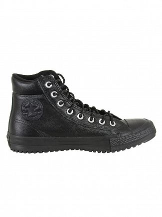 Converse Black/Black CT All Star Leather Boots