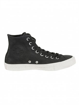 Converse Black/Malted/Pale Putty CT All Star Nubuck Trainers