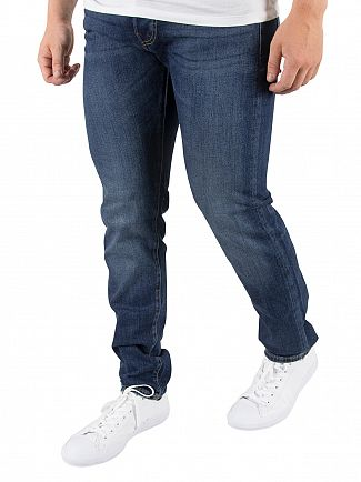 Edwin Blue ED-80 Slim Tapered Jeans