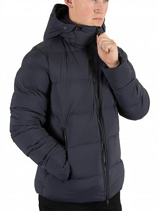 J Lindeberg Dark Navy Barry 77 Puffa Jacket