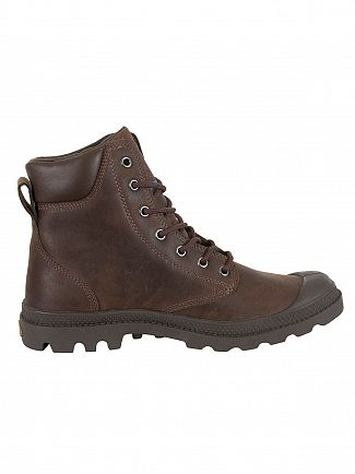 Palladium Chocolate Pampa Cuff WP LUX Boots