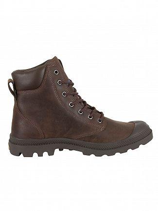 Palladium Chocolate Pampa Cuff WP LUX Boots