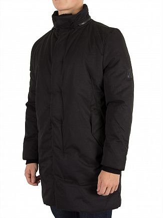 Religion Black Vale Parka Jacket