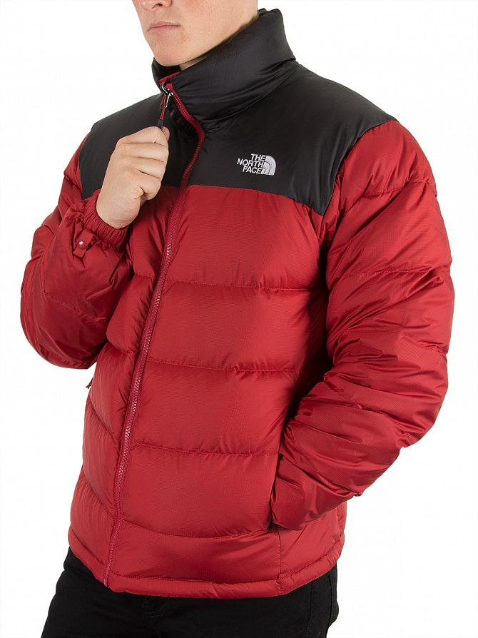the north face cardinal red nuptse 2 jacket stand out. Black Bedroom Furniture Sets. Home Design Ideas