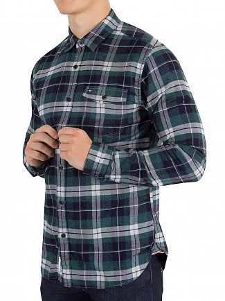 Tommy Hilfiger Denim Pacific Multi Check Pocket Shirt