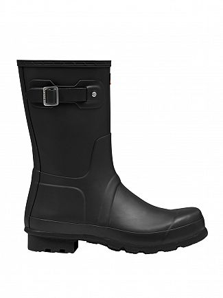 Hunter Black Original Short Wellies