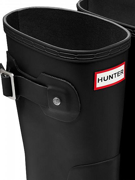 Hunter Black Original Short Wellies