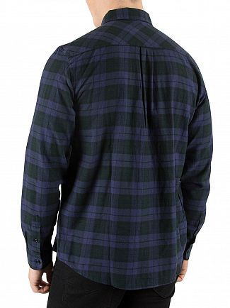 Carhartt WIP Blue/Parsley Norton Check Shirt