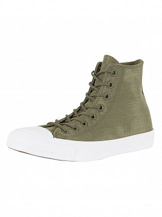 Converse Medium Olive/Herbal CT All Star Cordura Trainers