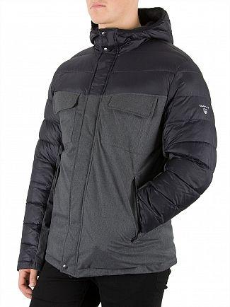 Gant Anthracite Melange The Velocity Jacket