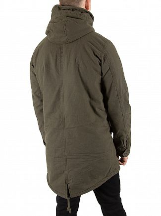 Jack & Jones Forest Night Bento Parka Jacket
