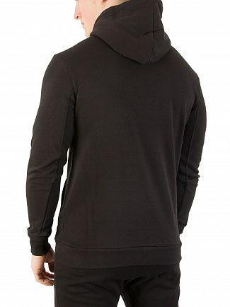 Sik Silk Black Pullover Hoodie