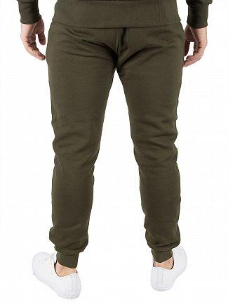 Sik Silk Khaki Standard Joggers