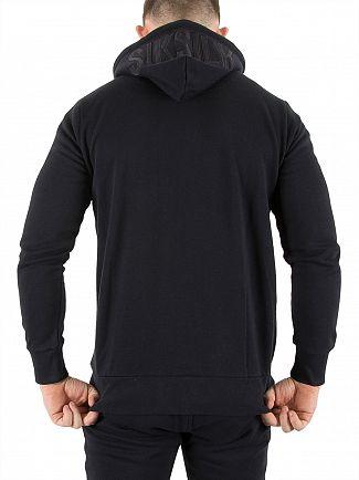 Sik Silk Navy Zip Hoodie