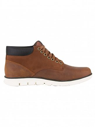 Timberland Red Brown Bradstreet Chukka Boots