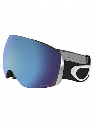 Oakley Matte Black/Sapphire Iridium Flight Deck Prizm Goggles