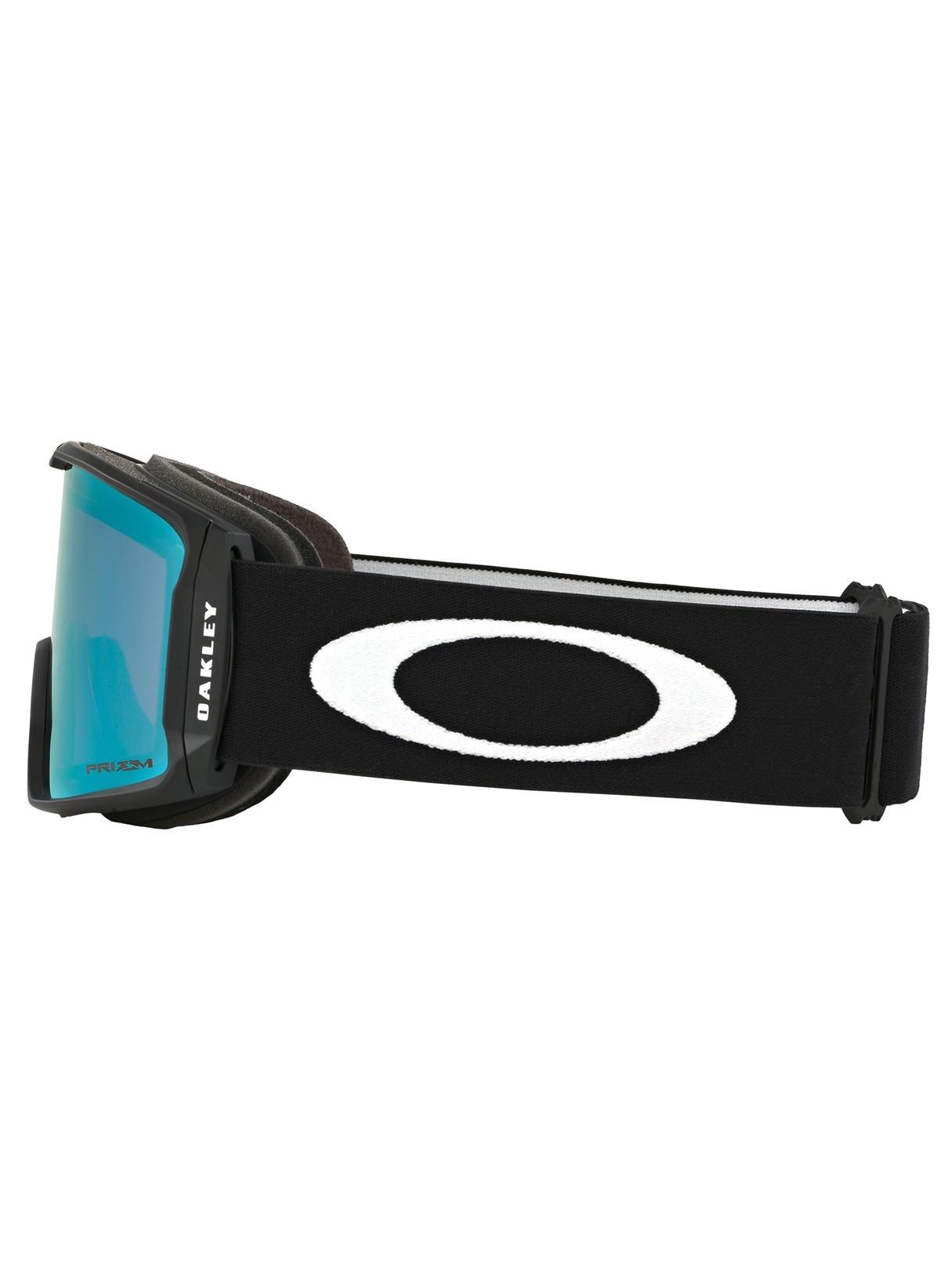 dfe057d82d2d Oakley Matte Black Sapphire Iridium Line Miner Prizm Snow Goggles ...