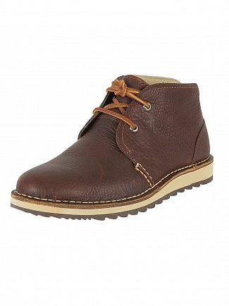 SPERRY TOP-SIDER BROWN DOCKYARD CHUKKA BOOTS