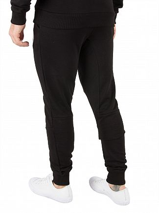 Hype Black Crest Joggers
