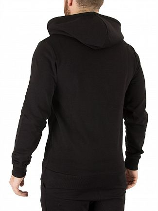 Hype Black Crest Pullover Hoodie
