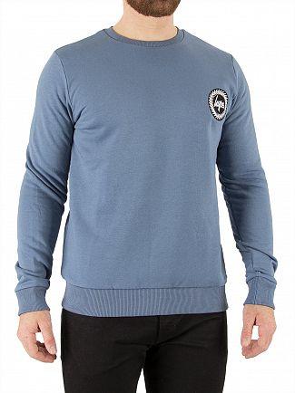 Hype Petrol Crest Sweatshirt