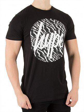 Hype Black Sand Strokes T-Shirt