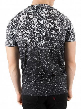 Hype Black/White Splat Speckle T-Shirt