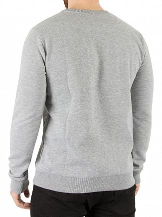 Hype Grey Text Circle Sweatshirt