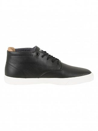 Lacoste Black/Black Espere Chukka 417 QSP Leather Trainers