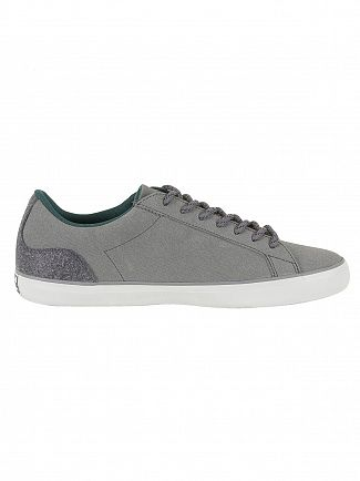Lacoste Dark Grey Lerond 417 1 CAM Trainers