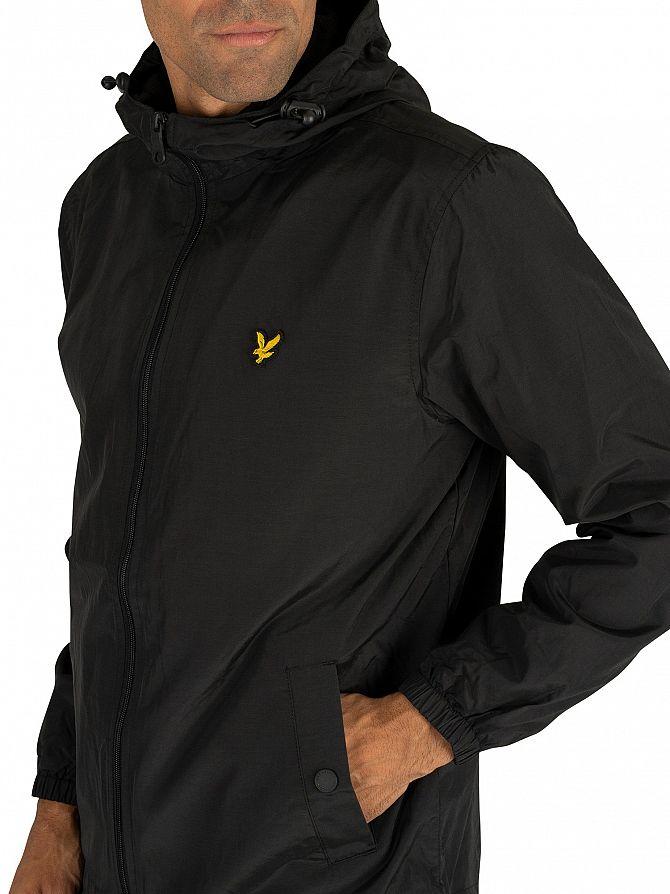 Lyle /& Scott Plus Size Plus Size Zip Through Hooded Jacket Chaqueta para Hombre