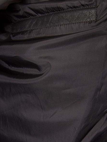 Levi's Black Buffalo Leather Trucker Jacket