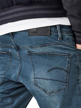 G-Star Medium Aged 3301 Deconstructed Super Slim Jeans
