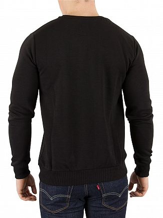 Hype Black Crest Sweatshirt