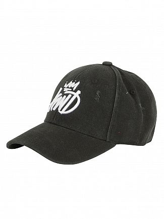 Kings Will Dream Black Distressed Baseball Cap