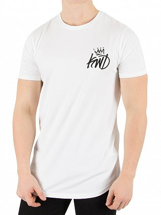 Kings Will Dream White Pyne Rose T-Shirt