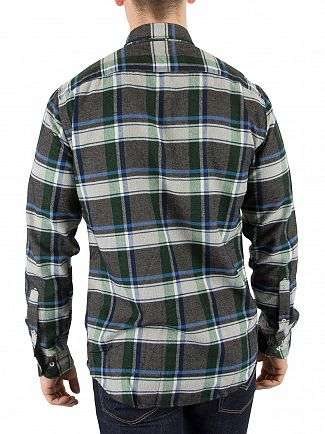 Tommy Hilfiger Granite Grey Renzo Check Pocket Shirt