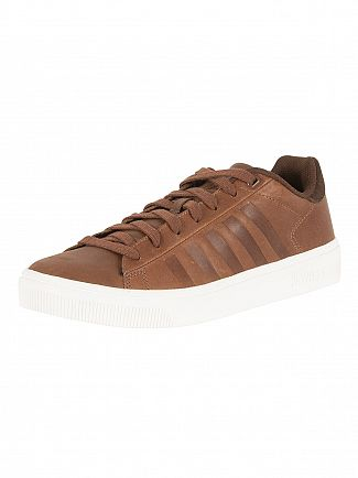K-Swiss Brown Court Frasco Trainers