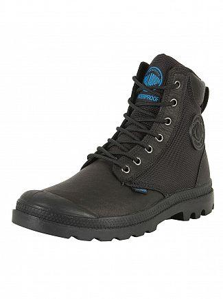 Palladium Black Pampa Sport Cuff WPN Boots