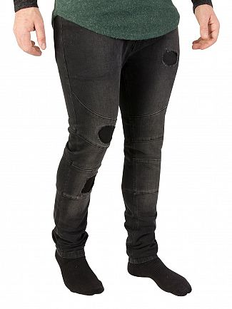 Religion Storno Wash Vault Ripped Jeans