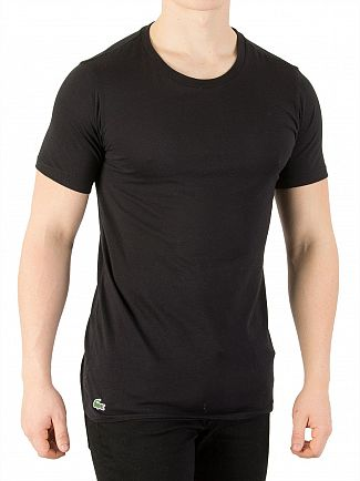 Lacoste Black 3 Pack Slim Fit T-Shirts
