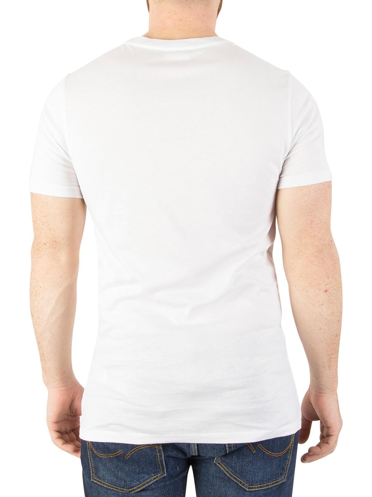 dd703d2a63b57 Slim ShirtsStandout Lacoste Fit T Pack White 3 1uJ5TFc3lK