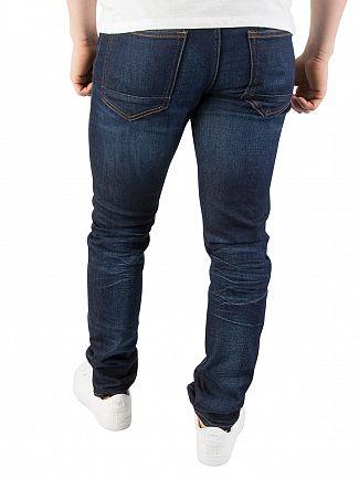 Scotch & Soda Blue Skim Skinny Fit Jeans