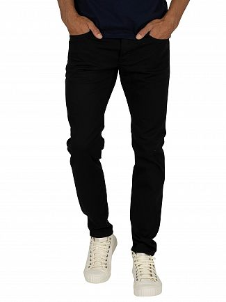 G-Star Black 3301 Slim Jeans