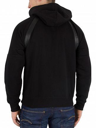 G-Star Dark Black Rackam Zip Hoodie