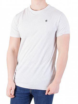 G-Star White Heather Wyllis Jersey T-Shirt