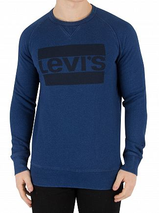Levi's Indigo Graphic Sweatshirt